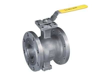 ISO 5211 direct mounting pad V segment flange  type ball valve GB Series