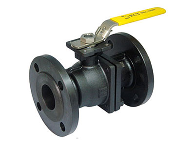 2-PC BODY , FLANGE END ,FULL PORT DIN SERIES